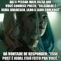 Top Memes, Best Memes, Funny Images, Funny Photos, Harley Queen, Cool Phrases, Boyfriend Memes, Memes Status, Joker And Harley Quinn