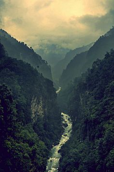 Bhote Koshi in Nepal (by Mohan Duwal)