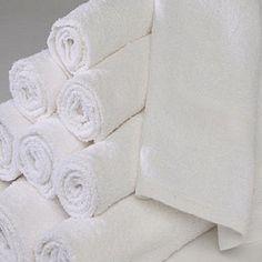 1 DOZEN NEW WHITE 22X44 100% COTTON TERRY BATH TOWELS SALON/GYM 6# DOZEN