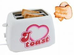 Toaster I LOVE YOU