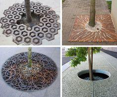 Tree grates design