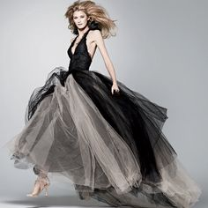 Vera Wang - Black wedding dress
