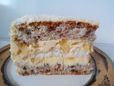 Sweet Cakes, Cheesecakes, Vanilla Cake, Tiramisu, Sweet Recipes, Deserts, Rolls, Food And Drink, Cooking Recipes
