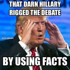 Funniest Presidential Debate Memes: Rigged Debate