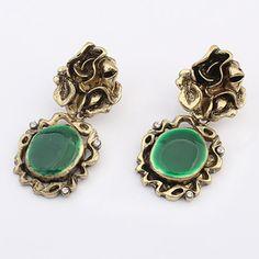 #Enamel #Zinc #Alloy #Drop #Earring #Jewelry #Earrings, More Info Here http://www.beads.us/product/Zinc-Alloy-Drop-Earring_p349390.html?Utm_rid=219754