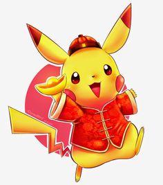 Chinese New Year Pikachu