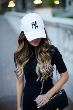 4cdd30e79e5d0 fashion blogger mia mia mine in a yankees hat and chanel bag