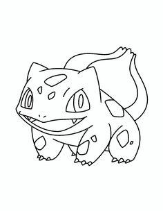 Dibujos pikachu para dibujar imprimir colorear y - Pagina da colorare bulbasaur ...