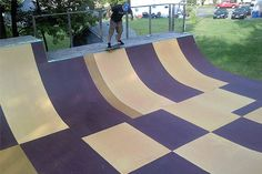 Our product will allow you to build your own skate ramp with partial ramp kits or life-size traceable plans. Skate It. Scooter Ramps, Bmx Ramps, Skateboard Ramps, Skateboard Art, Skate Ramp, Skate Surf, Longboarding, Wakeboarding, Half Pipe Plans