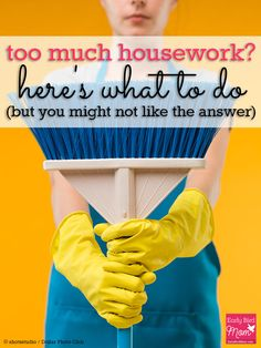 Are you drowning in housework? Do you think if you could just get a better system or a few more cleaning hacks that you'd be able to keep up? If so, you're missing out on one crucial factor (and you might not like it at all...)