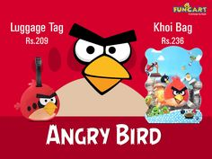 This weekend throw Angry birds theme party with #funcart cool products inspired by #AngryBirds theme www.funcart.in #Funcart #Angrybirds #ThemeParty #Fun
