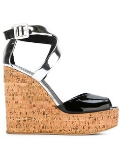 39a324062c48 Shop Giuseppe Zanotti Design wedge sandals in Vitkac from the world s best  independent boutiques at farfetch