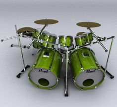 Pearl Drums, Drum Sets, Musical Instruments, Rock N Roll, Musicals, Pearls, Life, Music Instruments, Rock Roll
