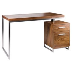 £300 A versatile desk, with its own storage, that will be a great asset to your home office. It can easily be twisted and moved to suit any individual needs or room shape.