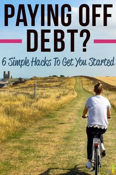 I LOVE these tips for paying off debt! I'm following three of these and it has been much easier to put more money toward debt.