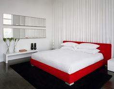 Design bedroom in red - 25 creative ideas - Home Decoration Best Interior, Home Interior, Interior Design, Decoration Bedroom, Decor Room, Home Decor, Bedroom 2018, Bedroom Images, Ceiling Design