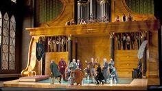Die Meistersinger set from the Salzburg Festival, Production by Stefan Herheim. Sets by Heike Scheele. Set Design Theatre, Stage Set, Scenic Design, Salzburg, Opera, Inspiration, Hunting, German, Film