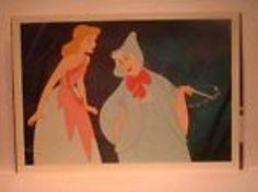 Vintage Old Walt Disney Postcard Cinderella...90's