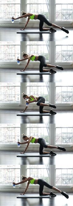 5 GIFs to flat abs with Karlie Kloss