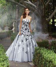 2013 Design Custom Strapless A-Line White Gorgeous Wedding Dress Gown