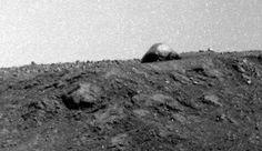 Cúpula recém encontrada em foto do jipe-sonda Opportunity.