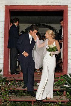 JFK, Jr and Caroline Bisset-Kennedy