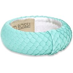 "Ted Rossi ""Icy Pastel"" Medium Python Bangle Bracelet ❤ liked on Polyvore"