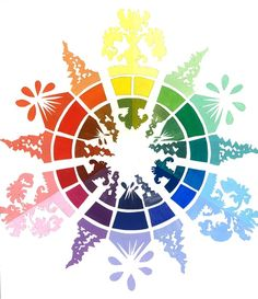 Color wheel pictures art google search art examples for Color wheel examples