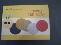 birthday caterpillar
