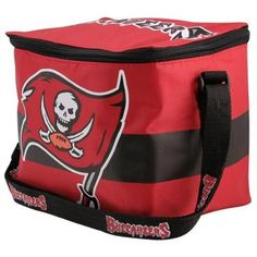 Tampa Bay Buccaneers Red Insulated 12-Pack Cooler #ultimatetailgate #fanatics