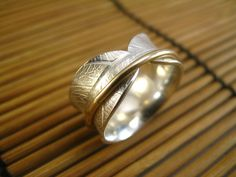 Bodhi leaf sterling silver spinner ring.  I may need an intervention soon!