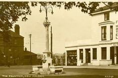 The Fountain, New Malden. Old Pictures, Old Photos, Miss Us, Kingston Upon Thames, Old Street, Picture Postcards, Historical Images, Surrey, Fountain