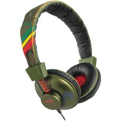 House Of Marley Positive Vibration On-ear Headphones (roots)