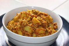Ayurvedisches Rezept für Blumenkohl mit Kartoffeln und Tomaten