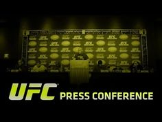 UFC (Ultimate Fighting Championship): UFC 189 and The Ultimate Fighter Finale: Press Conference