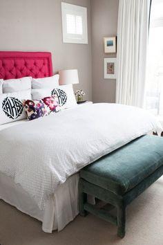 monogram pillows.