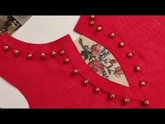 In this video I will teach you how to make Latest and creative neck design cutting & stitching by Sheree boutique. Churidhar Neck Designs, Salwar Neck Designs, Churidar Designs, Saree Blouse Neck Designs, Neck Designs For Suits, Kurta Neck Design, Sleeves Designs For Dresses, Neckline Designs, Dress Neck Designs