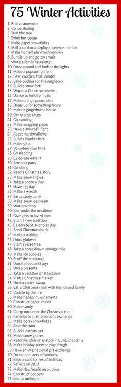 Winter Bucket List | Babes in Deutschland