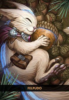 Ratatosk - O fofoqueiro da Yggdrasil - Deuses - SMITE - MOBA em terceira pessoa   Level Up!