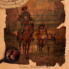 Fotoquimera: Bodegones del Quijote manchego
