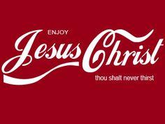 jesus christ shall never thirst t shirt - Google Search
