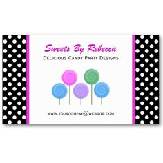 Polka-dot & #Candy #Business #CardS