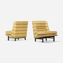 EDWARD WORMLEY lounge chairs, pair estimate: $3,000–5,000 | Design, 26 March 2015 < Auctions | Wright
