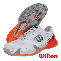 8bdaa20b27e32 Wilson Rush Pro 2.5 Men s Tennis Shoes for All Court Gray Racket WRS322630
