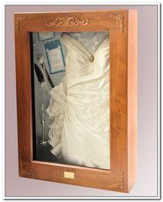 Shadow Box Frame For Wedding Dress