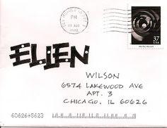pushing the envelopes: September 2012