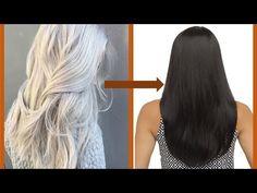 Change White hair to Black hair naturally || सफेद बाल को ब्लैक करें || Top Home Remedies - Grey Hair - YouTube Dyed White Hair, Dyed Hair, Black And Grey Hair, Gray Hair, Chocolate Brown Hair Color, Hair Thickening, Hair Mask For Growth, Hair Growth Treatment, Make Hair Thicker