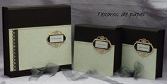 Colección de cajas para album de boda digital