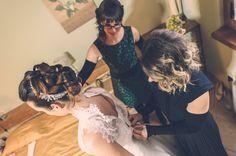 La sposa di Ronca Sposi con le sue damigelle!❤️