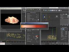 FumeFX Hand Fireball Tutorial Part 2 - 3DS Max - YouTube
